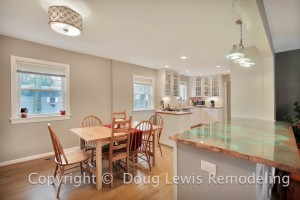 Kitchen Remodel - Elegant Lighting