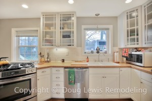 Kitchen Remodel - Bright Lighting