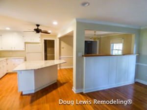 Kitchen Open to Dining Room and Family Room