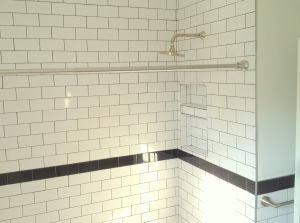 Bathroom Remodel Subway Tile
