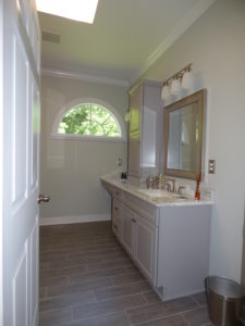 Custom Vanity Remodel - Side View