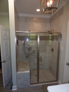 Shower Remodel with Tile
