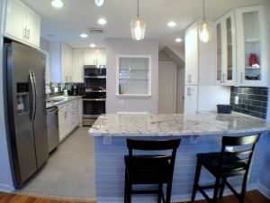 Kitchen Remodel Custom Tile