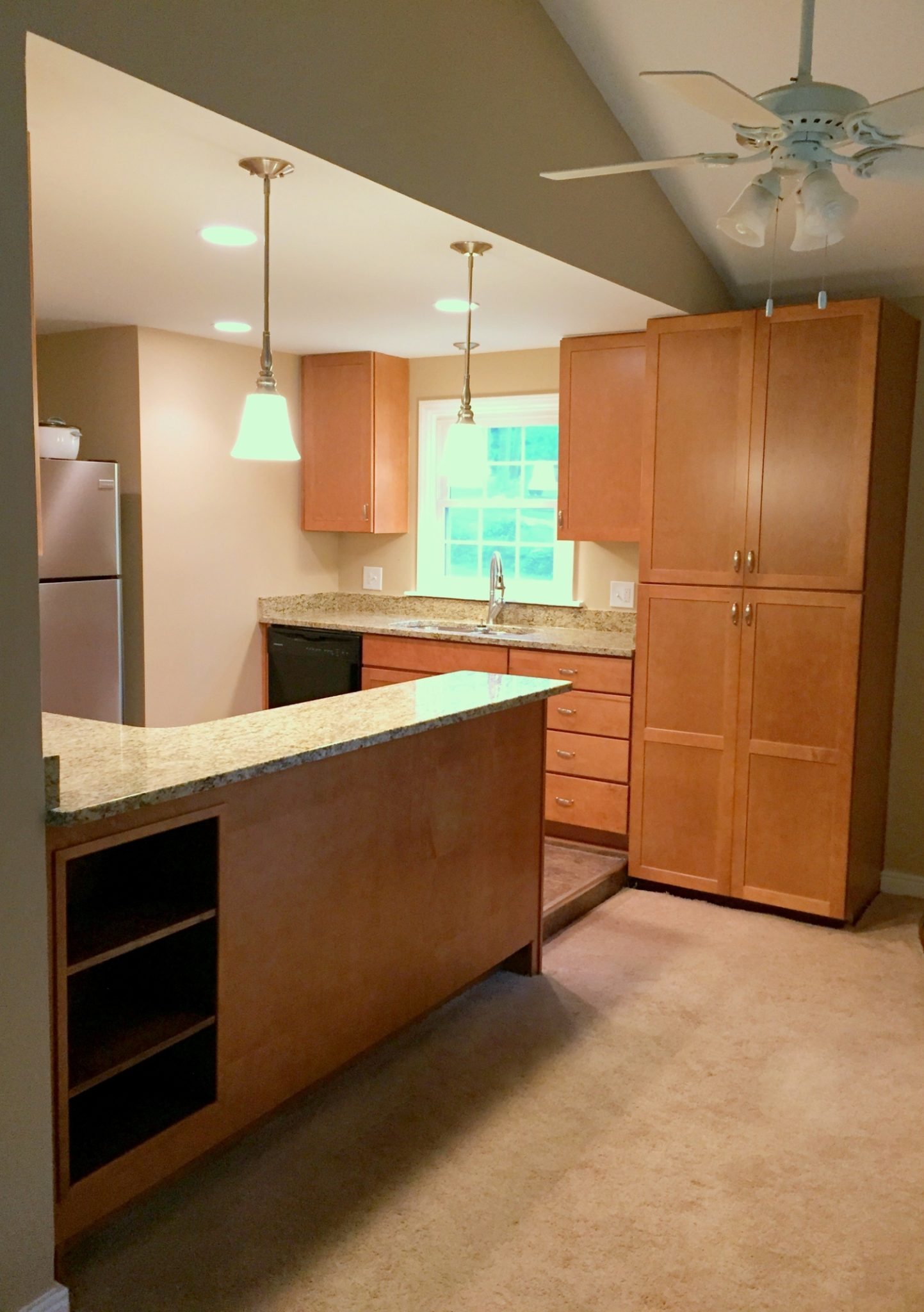 Kitchen Remodel New Cabinets Doug Lewis Remodeling