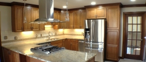 Kitchen Remodel - Granite tops, Tile Backsplash