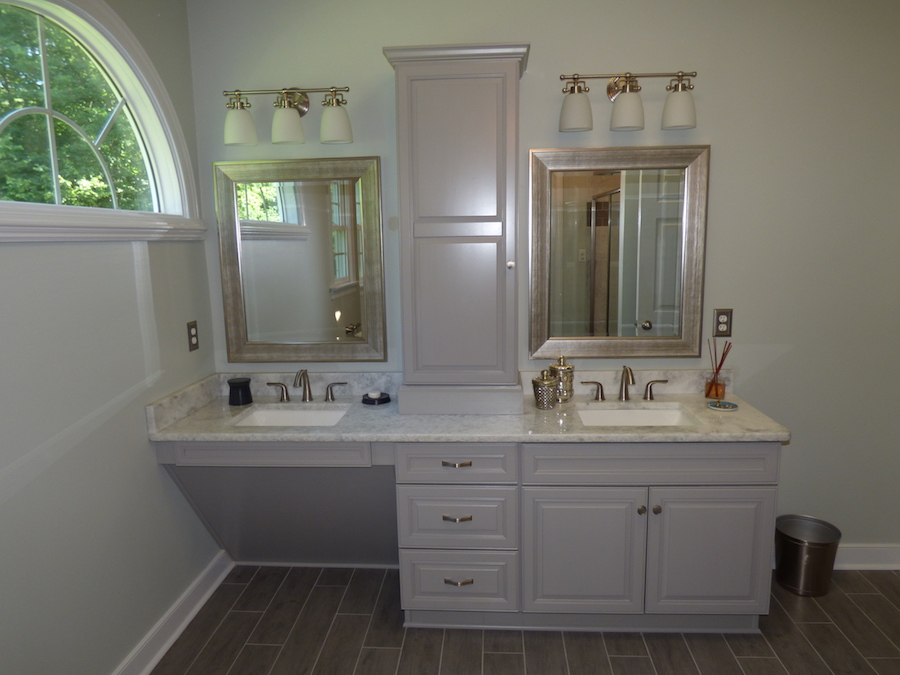 Bathroom Remodel - Custom Vanity