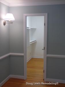 Home Remodel - Walk-In Closet